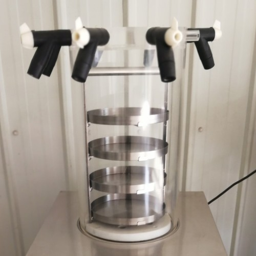 Vertical multi pipes freeze dryer for taxidermy