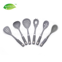 Good Quality for China Silicone Kitchen Utensils,Silicone Kitchen Tools Set,Silicone Cooking Utensils Supplier Soft Touch Grip Silicone Kitchen Utensil Set supply to Armenia Manufacturer