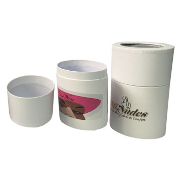 Custom logo Gift Paper Round Tube Box