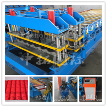 Glazed Roof Sheet Tile Roll Forming Machine