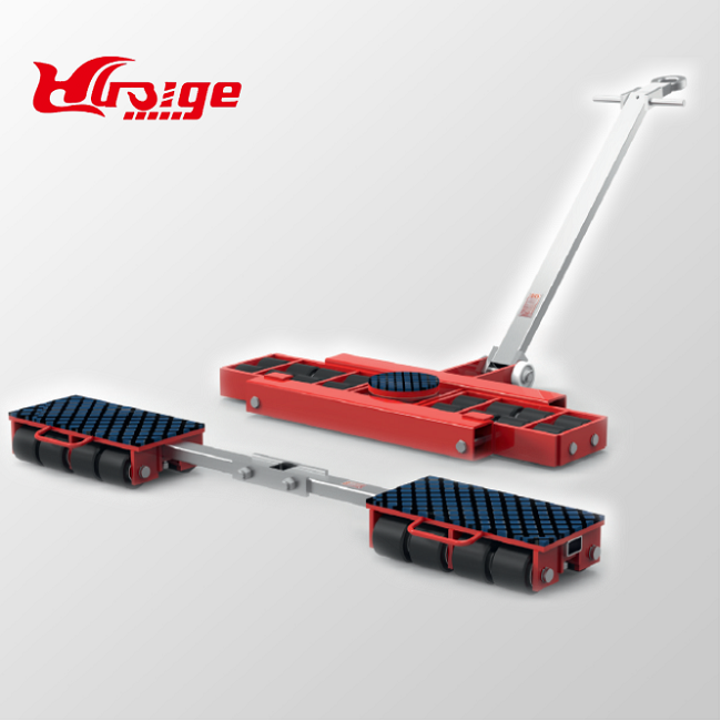 24 ton machinery moving trolley roller dolly