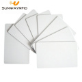 Printable 13.56mhz Blank White NFC F08 PVC Card