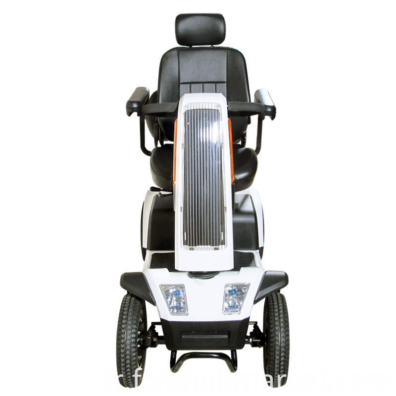 Wheelchair With Solar Board For Disabled