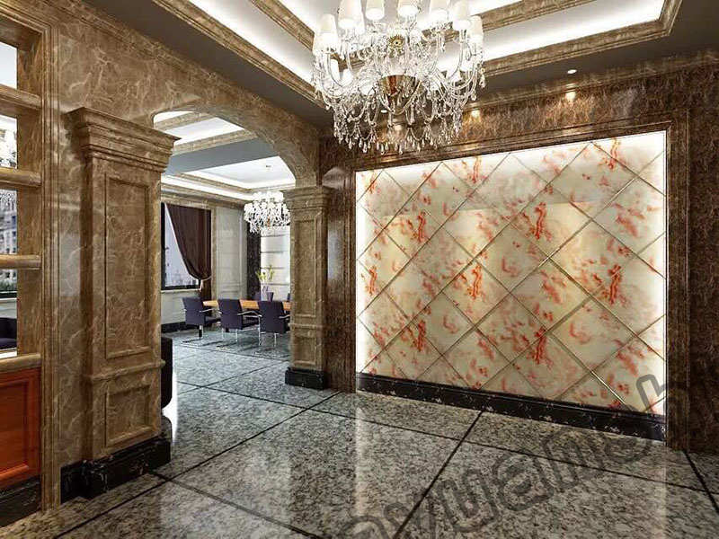 Interior decorative Imitation PVC Marble Panel