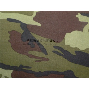 Elastic Knitting Polyester Composite Camouflage Fabric