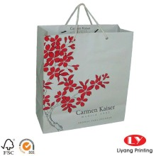 Luxury Style Gift Custom Shopping Paper Bag