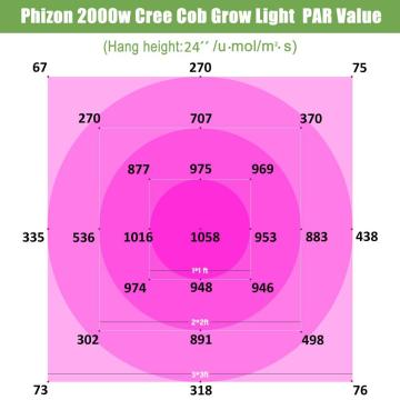 Phlizon 450w COB LED Grow Light Review