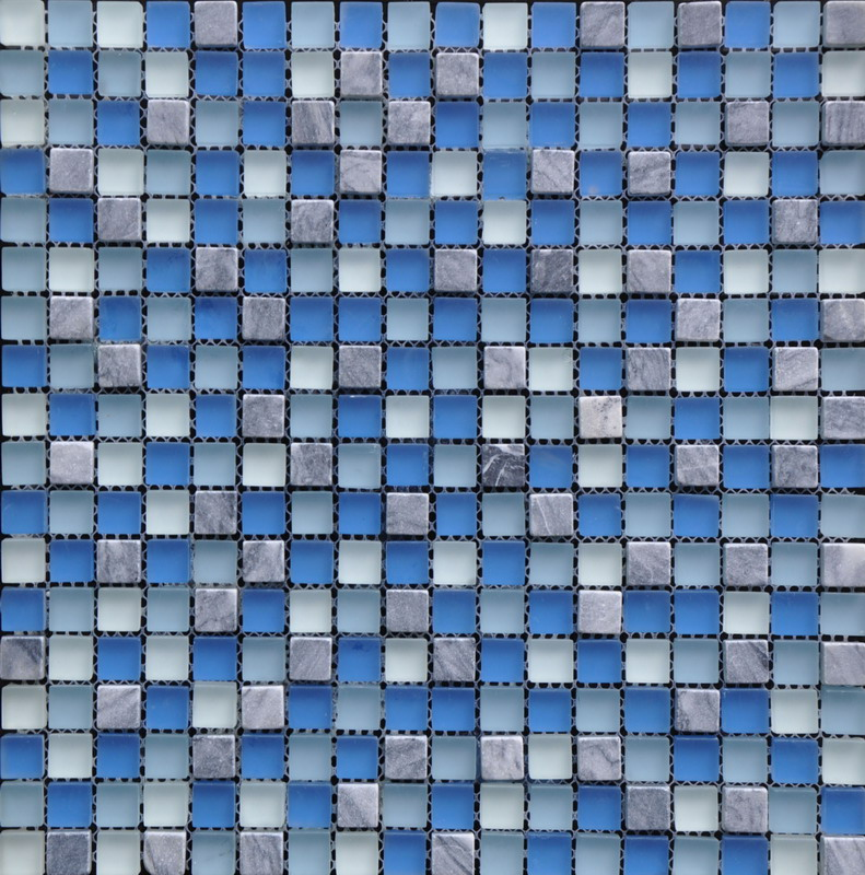 Frosted Surface Crystal Glass Mosaic
