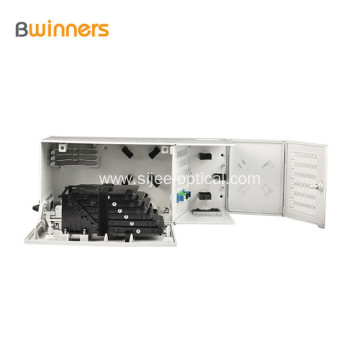 2 Door Wall Mount Multi-operator Fiber Distribution Hub Termianl Box 48 Core