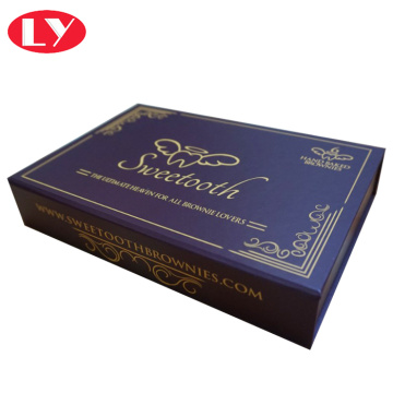 high quality cardboard brownies packaging box