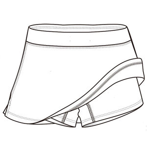 Factory supplied for Tennis Clothes Short pant tennis skirt for women export to Egypt Factories
