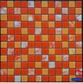 Color Mixed Doodle Glass Mosaic