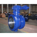 high customized cast iron body of ball valve for oil