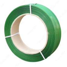 China for China Pet Strapping, Pet Packing Strap, Thickness Packing Material Pet Strap, Green Pet Strapping Supplier Hot selling pet strapping roll export to Congo Importers