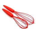 Red silicone egg beater