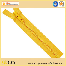 No5 Close End Plastic Resin Zipper for Sale