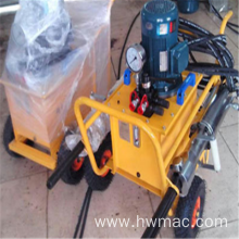 Used Darda hydraulic rock splitter machine