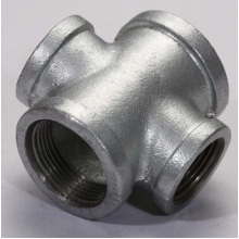 Hot sale Factory for Malleable Iron Pipe Fittings,Galvanized Fittings,Iron Fittings,Zinc Coated Fittings Manufacturer in China Banded Type Malleable Iron Cross export to France Wholesale