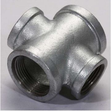 Leading for Zinc Coated Fittings Banded Type Malleable Iron Cross export to Poland Wholesale