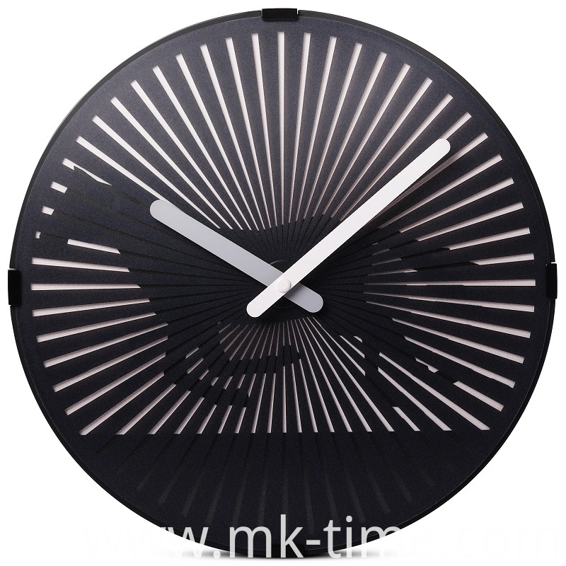 Moving Wall Clock
