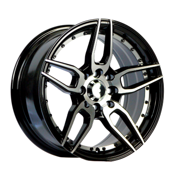Alloy Samll Size Wheel Undercut Black 15X7