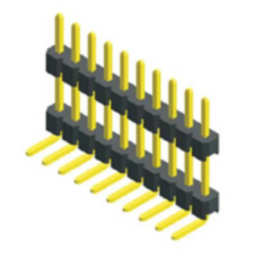 High Quality for Pcb Pin Header 2.00mm Pin Header Single Row Double Plastic Connectors supply to Namibia Exporter