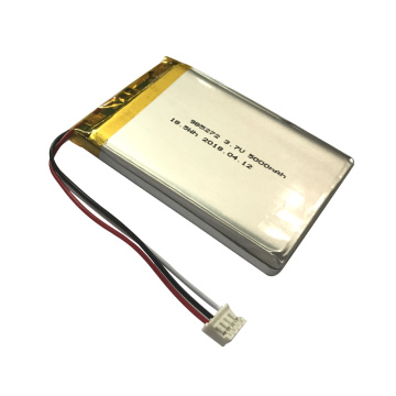 Rechargeable 985272 3.7V 5000mAh 18.5Wh Li Polymer Battery