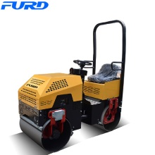 OEM for 1 Ton Road Roller 1 Ton Steel Tandem Vibratory Rollers export to South Africa Factories