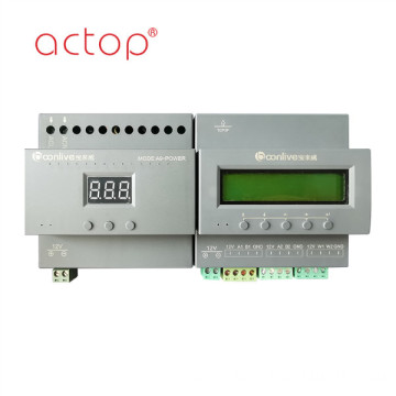 Smart hotel room control unit (RCU)host