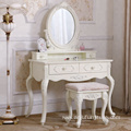 2018 hot selling elegant white cheap Makeup table Dressing Table