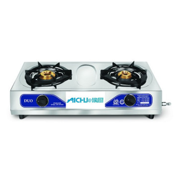 Pigeon Duo 2 Burner Stainless Steel Gas Stove