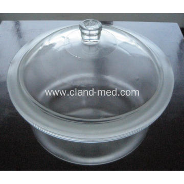 Desiccator with Porcelain Plate