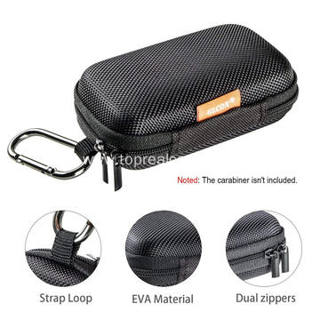 Hard Shell Bluetooth Headphones Carrying Case