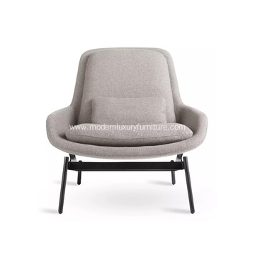 Modern Style Fabric Field Lounge Chair