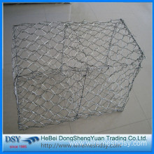 Flood control gabion box / weave Hexagonal gabion