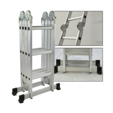 OEM/ODM for China Aluminum Multifunction Ladder,Multipurpose Ladder With Hinges Supplier Multi-purpose aluminium ladder supply to Kazakhstan Factories