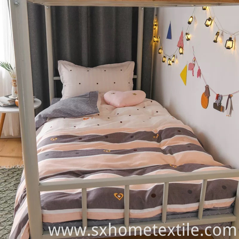 Flat Sheet with Cute Design