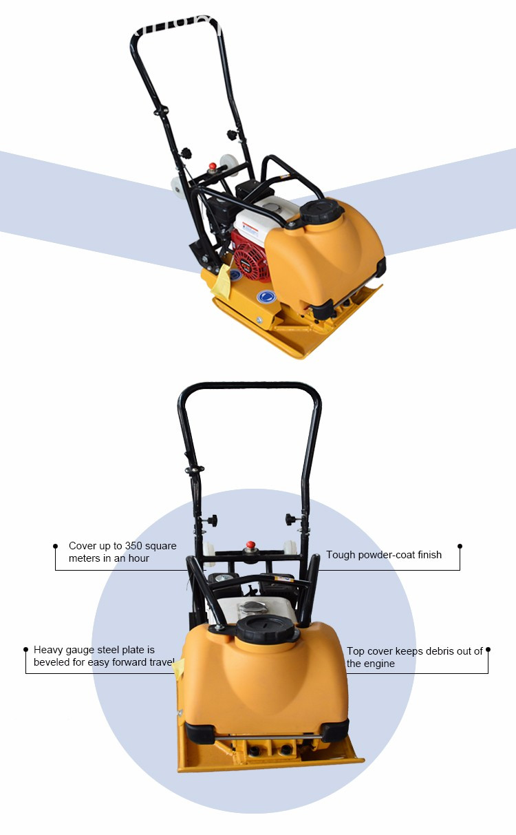 Cheap Diesel Vibrating Plate Compactor For Sale