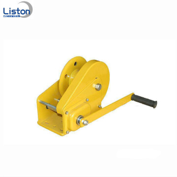 Small Stainless Steel Hand Winch with Auto-Locking