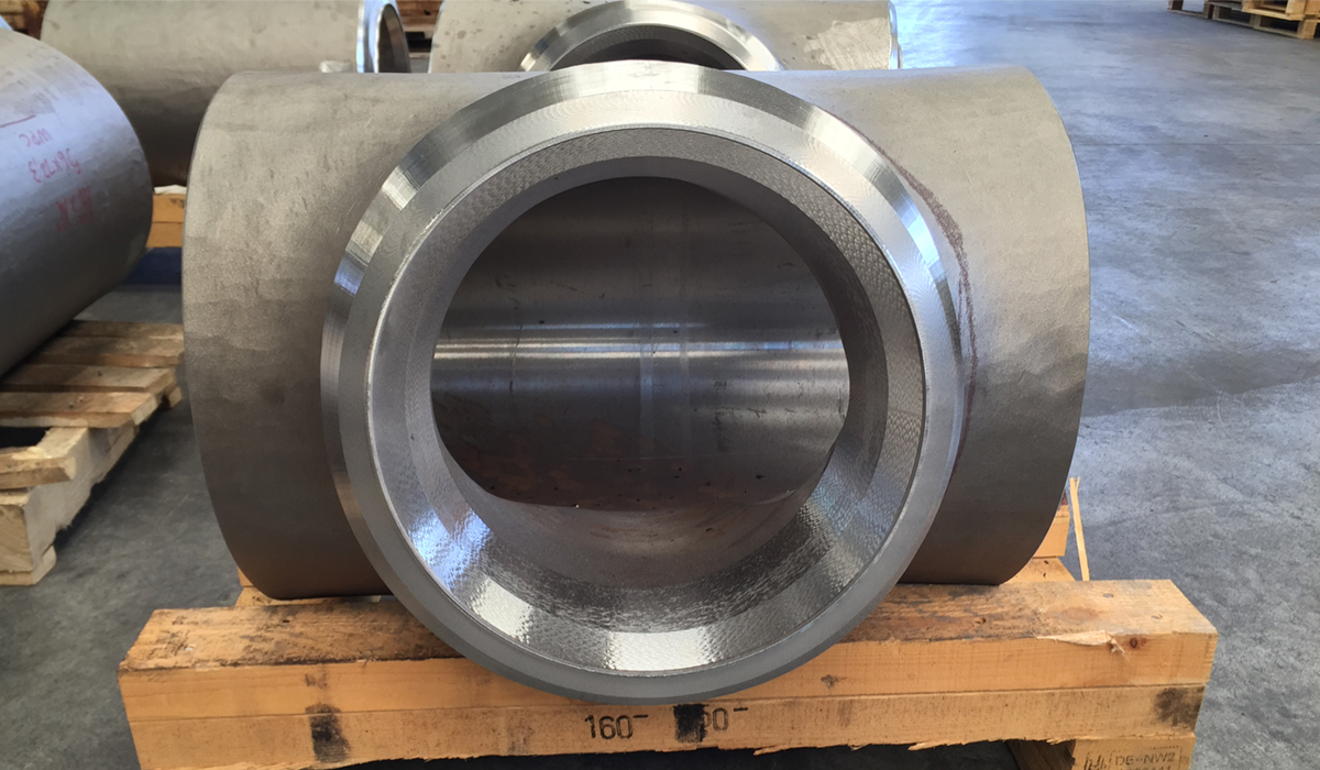 Seamless 904L 2205 310S Stainless Steel Reducing Tee
