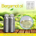 Bergamot essential oil for aromatherapy