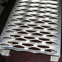 Galvanized Diamond Anti Skid Perforated Steel Plate