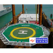Professional for Helideck Landing Nets Helicopter Platform Anti-skid Net supply to Russian Federation Importers