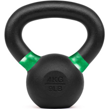 4kg Powder Coated Kettlebell