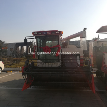hydraulic driving walking system combine harvester rice