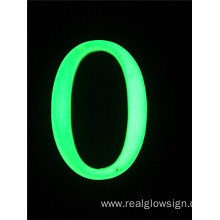 Realglow 3D Number 0