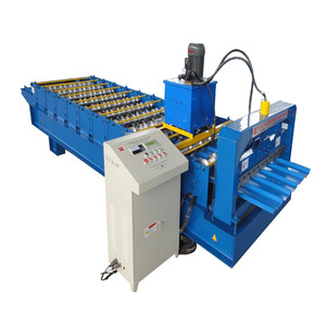 Trapezoidal Roof And Wall Roll Forming Machine