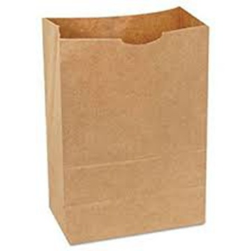 Disposable paper bags fast food take away packaging