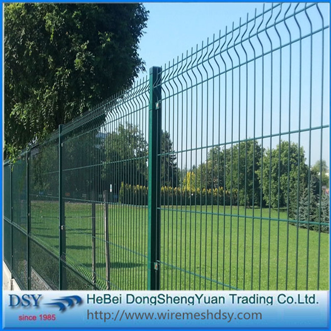 Bend 3D Welded Wire Mesh Fence Sale