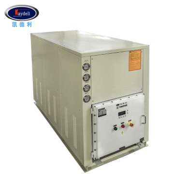 Explosion proof chiller-cooled water